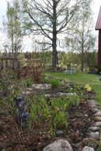 Även bronsälvan med fåbelbadet har fått sin plats